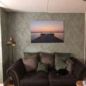 Photo de nos clients: Repose-toi sur Johan Mooibroek, sur toile