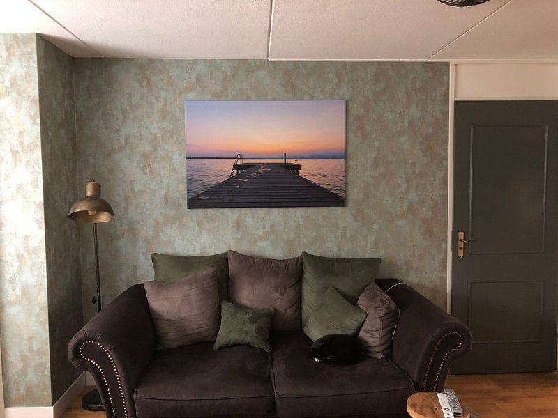 Kundenfoto: Ruhepause von Johan Mooibroek, auf leinwand