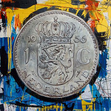 gulden (money) van Jeroen Quirijns