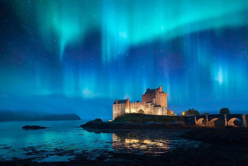 Eilean Donan Castle in Dornie Scotland von Peter Bolman