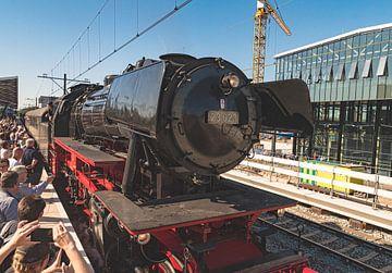 Stoomtrein Station Tilburg