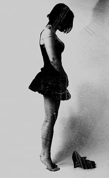 Vrouw zonder schoenen von Falko Follert