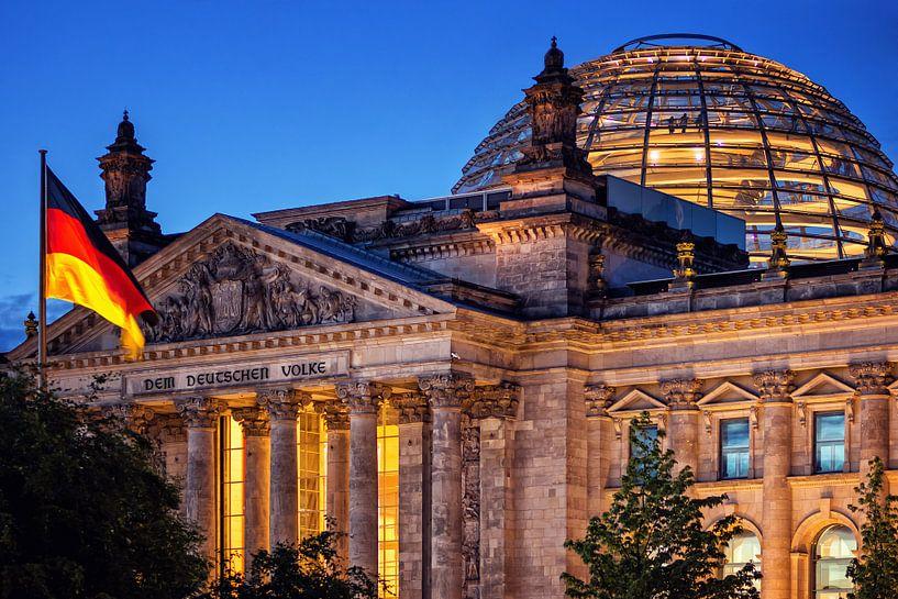 Berlin - Reichstag Building van Alexander Voss