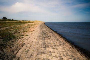 Bucht von Grootmie Vlieland von Vlielandplaatjes