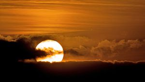 Zonsondergang van