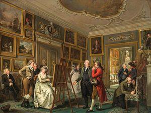 De kunstgalerij van Jan Gildemeester Jansz, Adriaan de Lelie