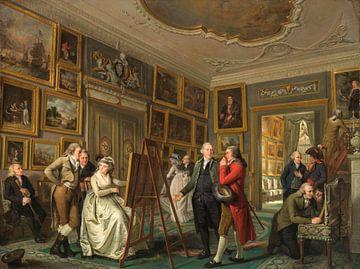 De kunstgalerij van Jan Gildemeester Jansz, Adriaan de Lelie sur
