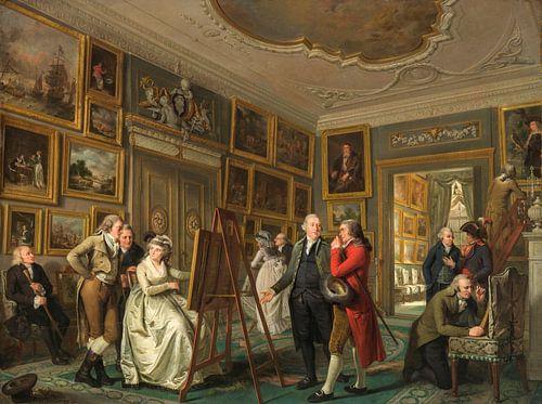 Die Kunstgalerie - Jan Gildemeester Jansz  von Hollandse Meesters