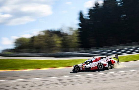 Toyota TS050 Hybride raceauto van Sjoerd van der Wal