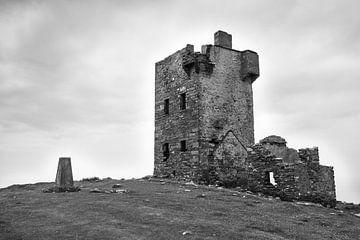 Burgruinen auf der Insel Dursey (Irland) von Fred Lenting