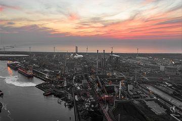Industrieel landschap van Jeroen Kleiberg