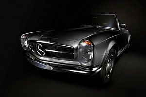 Mercedes-Benz 230SL Pagoda 1966 Silver van