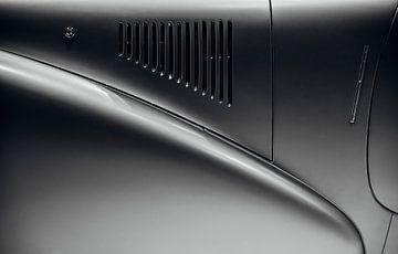Detail klassieke auto van Willem Verstraten