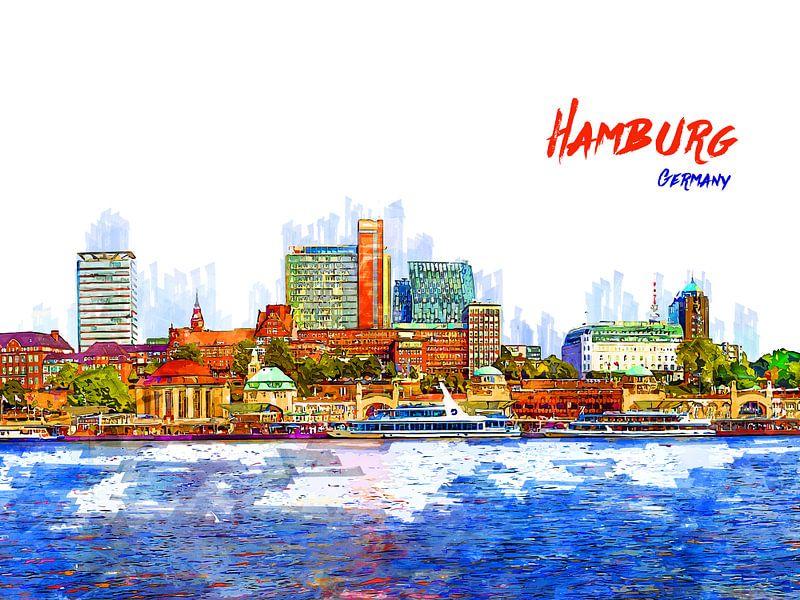 Hamburg von Printed Artings