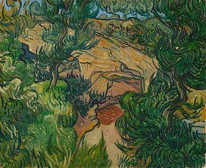 Vincent van Gogh, Ingang van een steengroeve