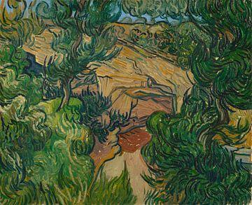 Vincent van Gogh, Eingang zu einem Steinbruch