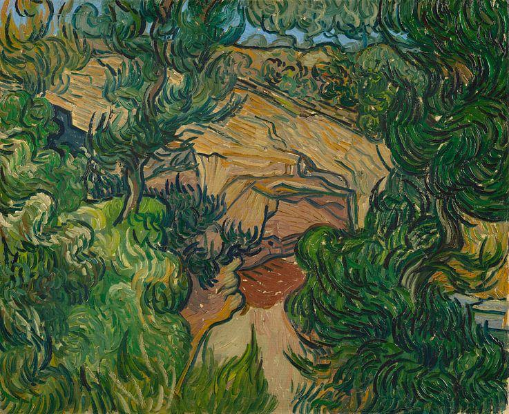 Vincent van Gogh, Eingang zu einem Steinbruch von 1000 Schilderijen