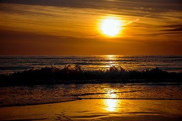 Zonsondergang Egmond aan Zee von