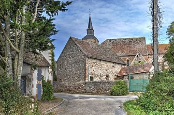 Midden in Frankrijk van Frans Blok