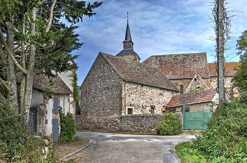 Midden in Frankrijk van
