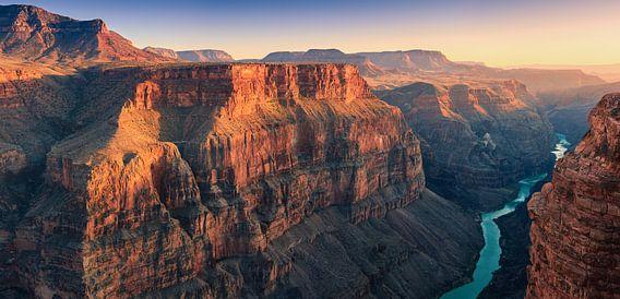 Zonsondergang Toroweap, Grand Canyon N.P North Rim