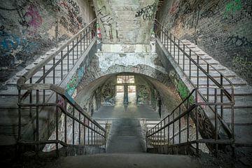 Die Pixel-Ecke - Graffiti-Treppen von The Pixel Corner