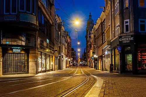Rust in de straten van Amsterdam