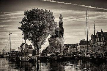 Haven Hoorn (Zwart-wit) van Rob Boon
