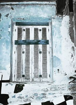 Verschlossen-2-Blau von Pia Schneider