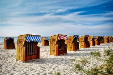 op het strand van Poel van Claudia Moeckel