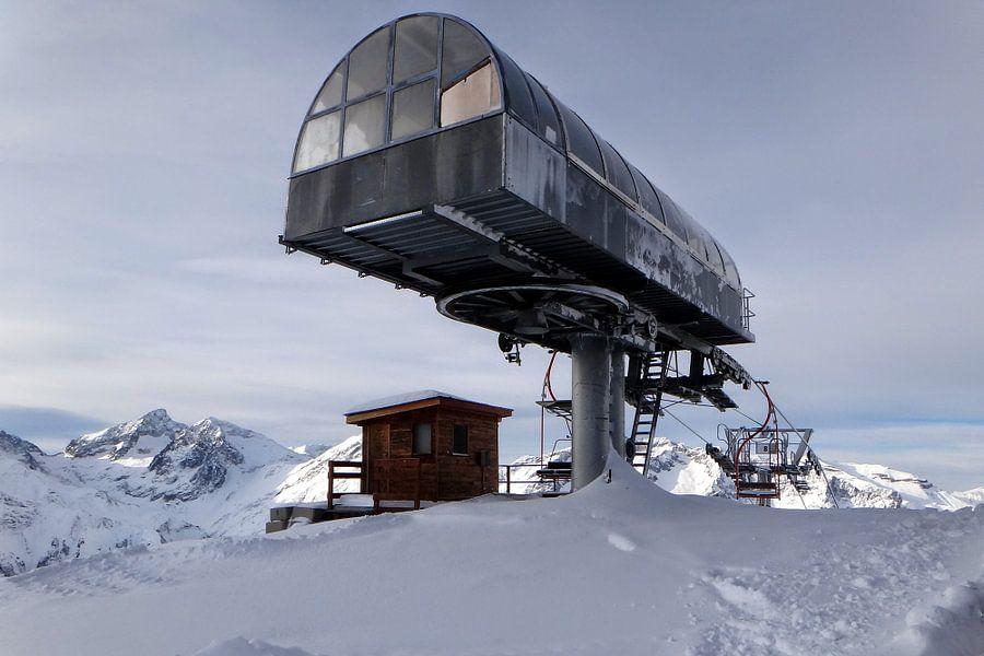Skilift van R. de Jong