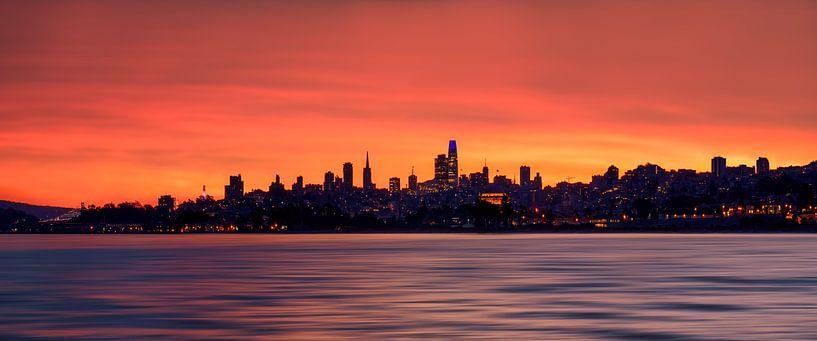 Le ciel de San Francisco sur Reinier Snijders