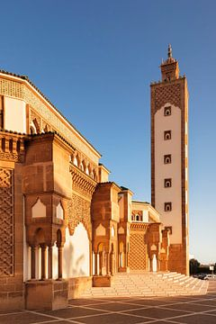 Hassan II Moschee bei Sonnenuntergang, Agadir, Marokko, von Markus Lange