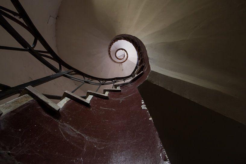 Rapunzel's stair van Oscar Beins