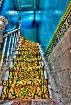 De verlaten trap naar.... Urban trappen verlaten huis van noeky1980 photography