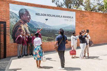 Apartheidmuseum Nelson Mandela in Pretoria van Annette van Dijk-Leek