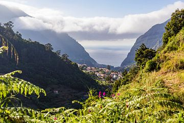 Sao Vicente auf der Insel Madeira von Werner Dieterich