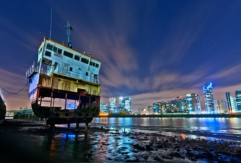 Slice of Reality / London / Greenwich / Canary Wharf van Rob de Voogd / zzapback