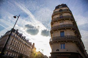 Straatbeeld Parijs van
