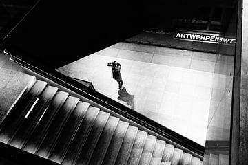 Hauptbahnhof - Antwerpen von Maurice Weststrate