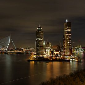 Erasmusbrug Rotterdam van Bert Buijsrogge