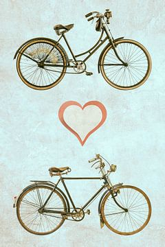 Bicycle Love van Martin Bergsma