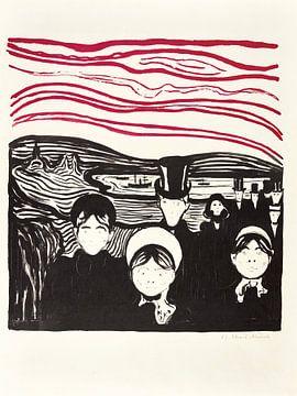Edvard Munch, Angst van Atelier Liesjes