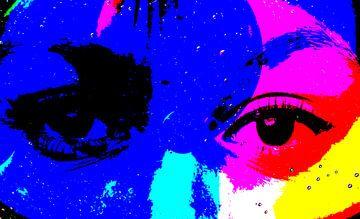 Kleurige ogen van Ans Bastiaanssen