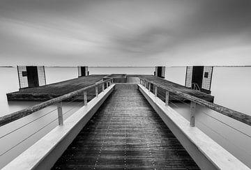 Markermeer (IJsselmeer) - Lelystad von Theo Hannink