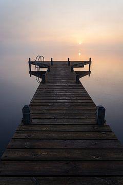 Ruhige Morgendämmerung von Sander van der Werf
