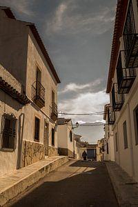 Straatje in oude stad Denía