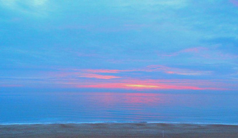 Sonnenaufgang 2 van Peter Norden