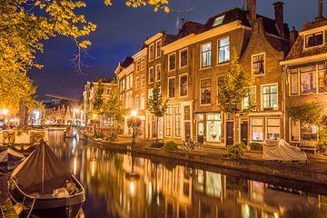 Mooi Leiden 's nachts van Richard Steenvoorden