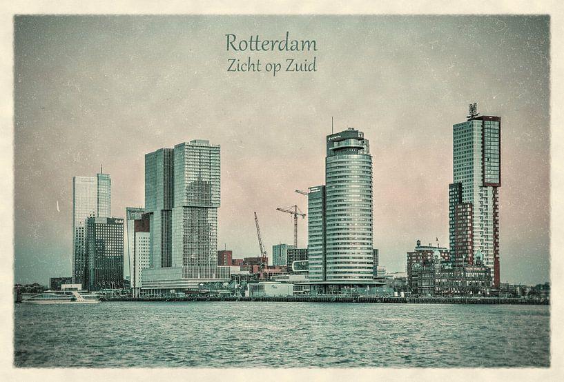 Oude ansichten: Rotterdam, zicht op Zuid van Frans Blok